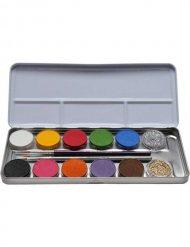 Palette di trucco 12 colori con brillantini
