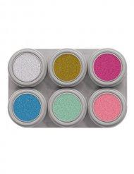 Palette trucco 6 colori con paillettes Grimas®