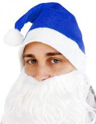 Image of Cappello Babbo Natale Blu adulto