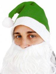 Image of Cappello da babbo natale verde per adulto