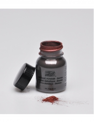 Polvere professionale effetto metallo marrone Mehron™