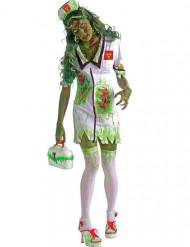 Costume da zombie infermiera per donna
