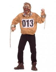 Costume da zombie prigioniero per adulto