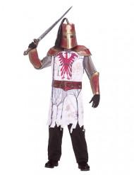 Costume da cavaliere zombie per adulto