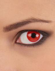 Lenti a contatto Occhio rosso adulto
