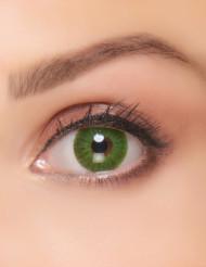 Lenti a contatto verde elettrico per adulto