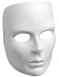 Maschera veneziana bianca