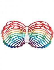 Occhiali a farfalla multicolore