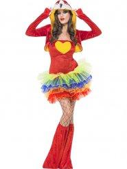 Costume da pappagallo con tutu per donna