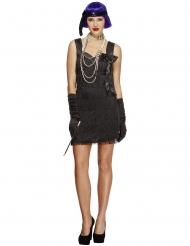 Costume charleston con fiocco per donna