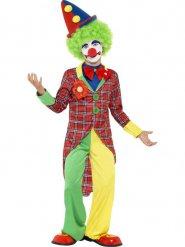 Costume da clown spiritoso per bambino