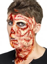 Cicatrice bruciatura in lattice Halloween