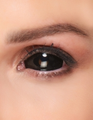 Lenti a contatto sclerali occhio nero adulto