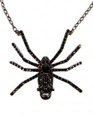 Collana ragno con teschio per adulto