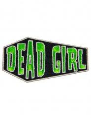 Toppa sarcofago Dead girl verde