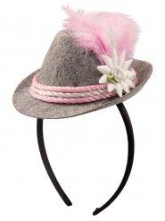 Cerchietto mini cappello bavarese