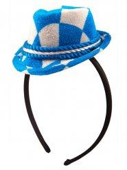 Cerchietto Oktoberfest con mini cappello bavarese