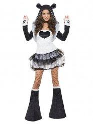 Costume da panda sexy con tutu per donna