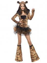 Costume da tigre sexiin tutù per donna
