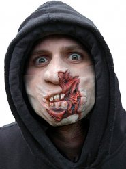 Maschera zombie in decomposizione per adulto