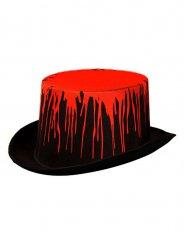 Cappello a cilindro insanguinato per adulto halloween