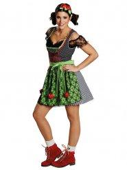 Costume tirolese tradizionale Dirndl per donna