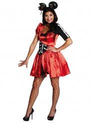 Costume da topolina zombie per donna halloween