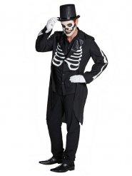 Giacca a coda di rondine da scheletro per uomo