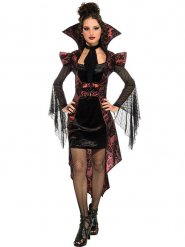 Costume vampiro gotico per donna Halloween