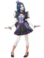 Costume da bambola rotta per donna halloween