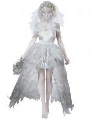 Costume sposa fantasma deluxe donna
