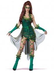 Costume da donna velenosa verde per adulto