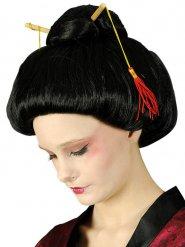 Parrucca da geisha nera per donna