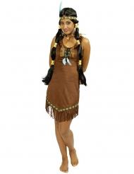 Costume da indiana della prateria per donna
