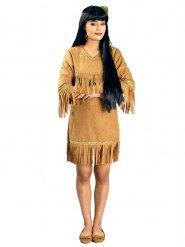 Costume da indiana con frange per donna