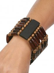 Bracciale indiano marrone