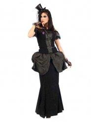 Costume deluxe vittoriano gotico per donna