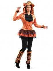 Costume da tigre selvaggia per donna