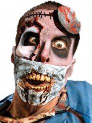 Finta ferite occhio da zombie per adulto