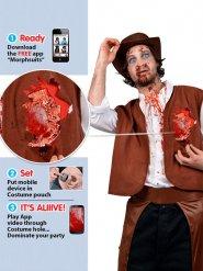 Costume da Cowboy zombie per adulto
