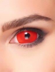 Lenti a contatto rosse adulto halloween