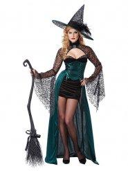 Costume da strega seduttrice per donna halloween