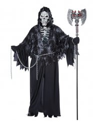Costume morte mietitrice di anime halloween