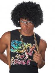 Parrucca Afro anni 90 nera