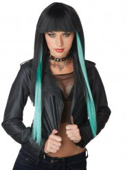 Parrucca rock star da donna