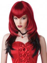 Parrucca da vampiro in stile gotico  per donna