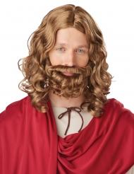 Parrucca con barba da Gesù