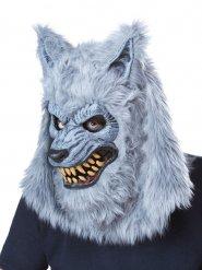 Maschera da lupo mannaro grigio
