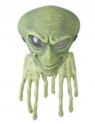 Maschera e guanti da alieno per adulto