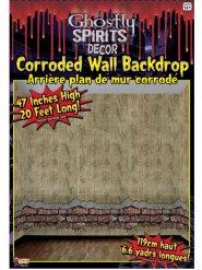 Decorazione da muro effetto rovinato